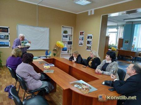 Поетична зустріч з Миколою Хандуріним (м. Краматорськ)
