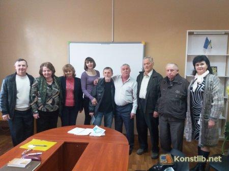 Творча зустріч з Сергієм Шишкіним (м. Краматорськ)